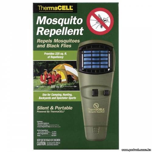 фумигатор через комаров ради рыбалки